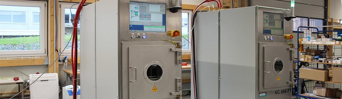 Winter-Vakuumtechnik Produkte Vakuumkleinanlagen